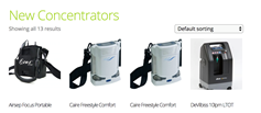 new oxygen concentrator online